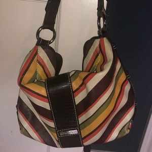 Isabella Fiore small leather hobo bag